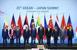 Thủ tướng Nguyễn Xuân Phúc dự Hội nghị Cấp cao ASEAN-Nhật Bản lần thứ 21