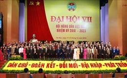 Bế mạc Đại hội đại biểu Hội Nông dân Việt Nam lần thứ VII