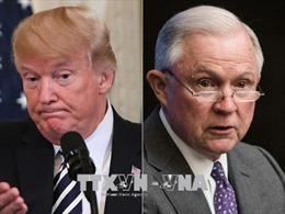 Căng thẳng mới giữa Tổng thống Donald Trump với Bộ Tư pháp Mỹ