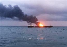 Không hy vọng tìm được thêm người sống sót trong vụ cháy tàu ở eo biển Kerch