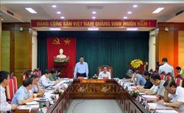 Đoàn công tác Tiểu ban Điều lệ Đảng Đại hội XIII làm việc tại Tuyên Quang