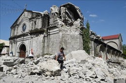 Số người thiệt mạng trong vụ động đất tại Philippines tăng lên 16 người