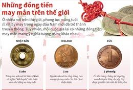 Những đồng tiền may mắn trên thế giới