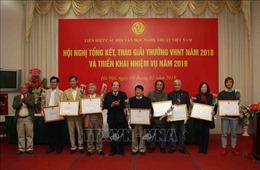 65 tác phẩm xuất sắc nhận Giải thưởng Văn học nghệ thuật năm 2018