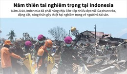 Năm thiên tai nghiêm trọng tại Indonesia