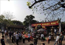Ngăn chặn các hành vi phản cảm tại Lễ khai ấn đền Trần - Nam Định 2019