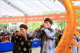 Bảo tồn và phát huy giá trị Lễ hội Minh thề ở Hải Phòng
