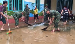 Quảng Ngãi tập trung khắc phục hậu quả mưa lũ