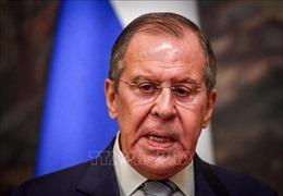 Ngoại trưởng Nga cáo buộc Mỹ thực hiện chính sách tuyên truyền lật đổ