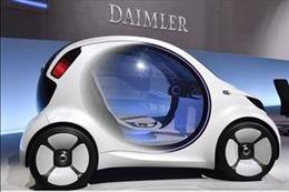 Đức và Trung Quốc hợp tác phát triển ô tô điện Smart