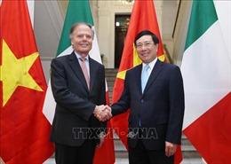 Đưa quan hệ đối tác chiến lược Việt Nam - Italy đi vào chiều sâu và hiệu quả