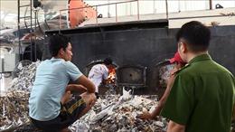 Phát hiện công ty sản xuất giấy đốt lò sấy bằng rác thải công nghiệp