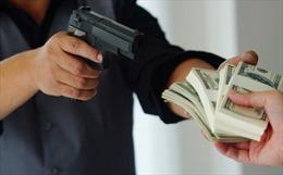 Bắt gọn kẻ xông vào cướp ngân hàng giữa ban ngày