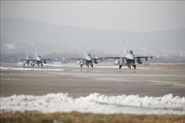 Hàn Quốc, Mỹ tập trận không quân chung