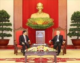 Tổng Bí thư, Chủ tịch nước Nguyễn Phú Trọng tiếp Thủ tướng Lào Thongloun Sisoulith