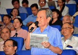 Cử tri TP Hồ Chí Minh: Phải đánh mạnh tham nhũng để lấy lại niềm tin trong nhân dân