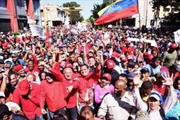 Chính phủ Venezuela kêu gọi tuần hành quy mô lớn