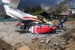Hai máy bay va chạm tại sân bay Nepal, ít nhất 2 người thiệt mạng