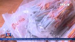 Bắt đối tượng tàng trữ hơn nửa tấn vật liệu nổ ở Quảng Ngãi