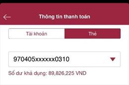 Thanh toán QR - Trải nghiệm mới, chạm tới iPhone X