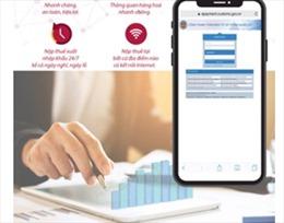 Agribank triển khai dịch vụ nộp thuế điện tử và thông quan 24/7 qua cổng thông  tin điện tử Hải quan