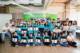 Học sinh lần đầu trải nghiệm công nghệ cảm biến MESH của Sony
