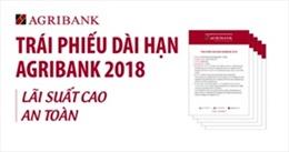 Agribank phát hành trái phiếu ra công chúng năm 2018