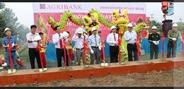 Lễ khởi công xây dựng Trụ sở Agribank Chi nhánh Huyện Chợ Lách