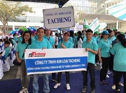 Tacheng 14 năm liền đồng hành cùng chương trình đi bộ Lawrence S. Ting