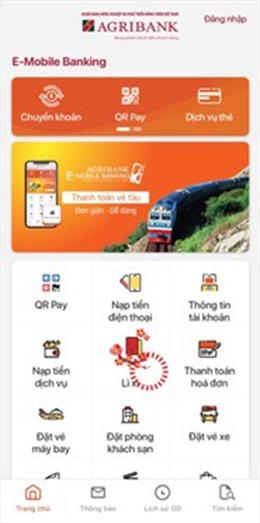 """Agribank giúp khách hàng """"lì xì"""" qua E-Mobile Banking"""