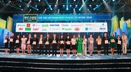 Đất Xanh được vinh danh Top 100 nơi làm việc tốt nhất Việt Nam