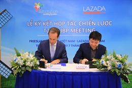 FrieslandCampina Việt Namký kết hợp tác với Lazada