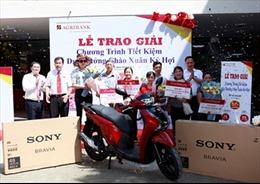 Agribank Chi nhánh Hà Nội II trao xe Honda SH 125 cho khách hàng trúng giải đặc biệt