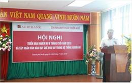 Agribank Thừa Thiên Huế sơ kết hoạt động kinh doanh 6 tháng đầu năm 2019