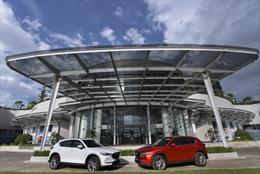 Thaco vừa ra mắt sản phẩm SUV 5 chỗ Mazda CX5 mới - sản phẩm thế hệ 6.5 của Mazda.