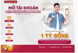 Cơ hội nhận ưu đãi 'khủng' khi mở tài khoản và sử dụng dịch vụ của Agribank