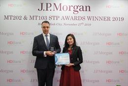 Dịch vụ thanh toán quốc tế của HDBank hai năm liền nhận giải thưởng từ Ngân hàng Mỹ