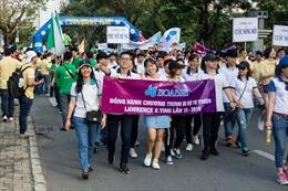 Hòa Bình - 15 năm đồng hành cùng chương trình Đi Bộ từ thiện Lawrence S. Ting