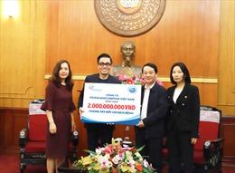FrieslandCampina Việt Nam đóng góp vào chương trình phòng chống dịch COVID-19