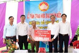 Agribank chi nhánh Tây Quảng Ninh hỗ trợ 55 triệu đồng xây dựng nhà đại đoàn kết