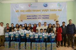 Sữa Cô Gái Hà Lan nâng bước đến trường cho học sinh vùng lũ Quảng Trị