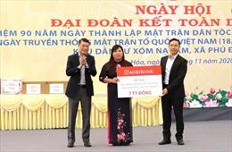 Agribank tặng 7 tỷ xây trường Tiểu học Phú Đình  ở Định Hóa, Thái Nguyên