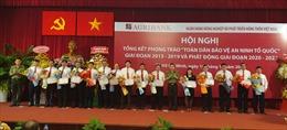 Công an TP Hồ Chí Minh trao 60 giấy khen cho tập thể và cá nhân của Agribank