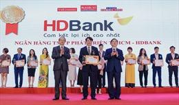 HDBank dẫn đầu thị trường về bán lẻ và SME