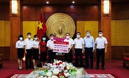 Agribank chi nhánh Lạng Sơn chung tay ủng hộ công tác phòng chống dịch COVID-19 trên địa bàn