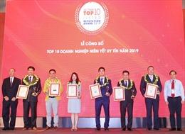 Đất Xanh xuất sắc đạt giải Top 10 công ty niêm yết uy tín năm 2019