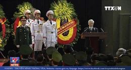 Lễ Truy điệu Chủ tịch nước Trần Đại Quang tại Nhà Tang lễ Quốc gia, Hà Nội