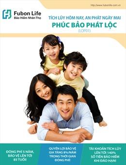 """Fubon Life Việt Nam ra mắt sản phẩm mới """"Phúc Bảo Phát Lộc"""""""