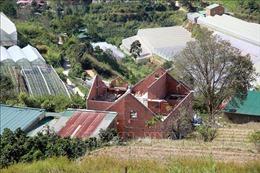 Buộc tháo dỡ 20 căn nhà xây dựng trái phép trên đất rừng Lâm Đồng
