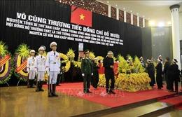 Cử hành trọng thể Lễ truy điệu nguyên Tổng Bí thư Đỗ Mười tại Hà Nội và TP Hồ Chí Minh